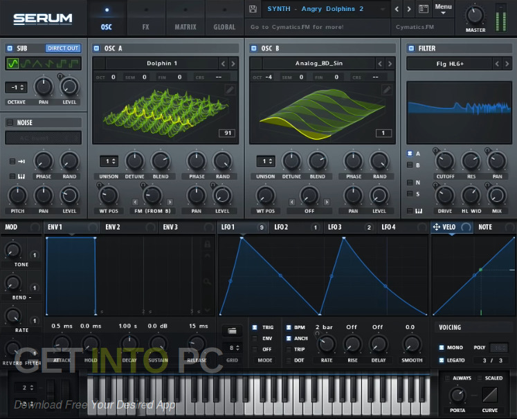 Cymatics - BLACK - Serum Suite Offline Installer Download