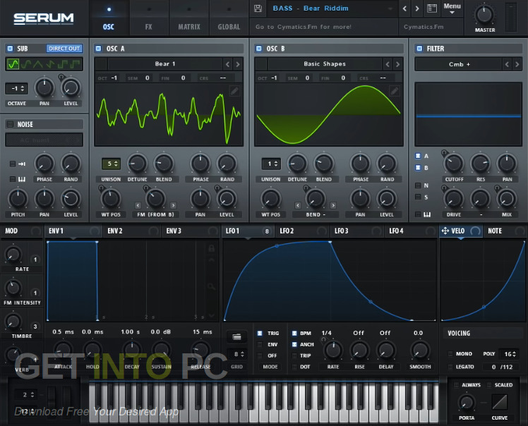 Cymatics - BLACK - Serum Suite Latest Version Download