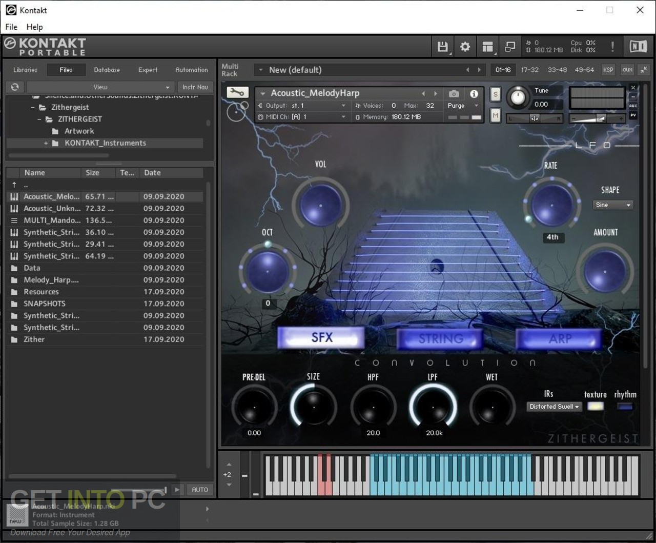 Silence + Other Sounds - Zithergeist (KONTAKT) Direct Link Download