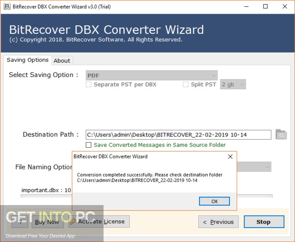 BitRecover MBOX to PDF Wizard Direct Link Download