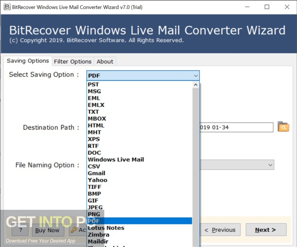 BitRecover MBOX to PDF Wizard Offline Installer Download