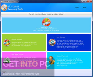 Lazesoft Windows Recovery Pro Edition Direct Link Download-GetintoPC.com