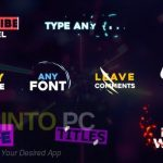 VideoHive – Expressive Titles After Effects Free Download